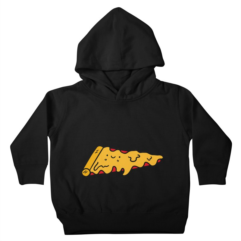 Pizza Kids Toddler Pullover Hoody by Piratart Illustration
