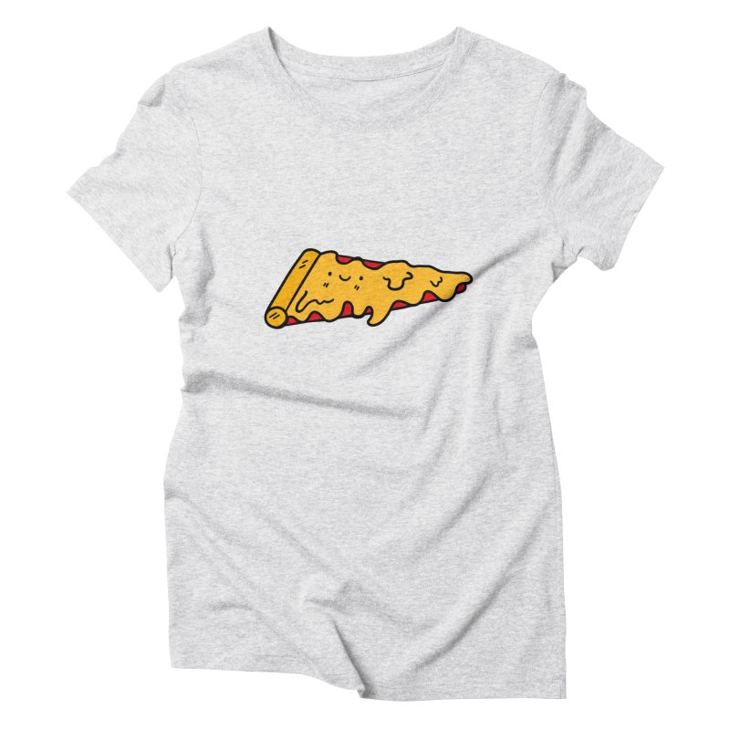 Pizza Women's Triblend T-shirt by Piratart Illustration