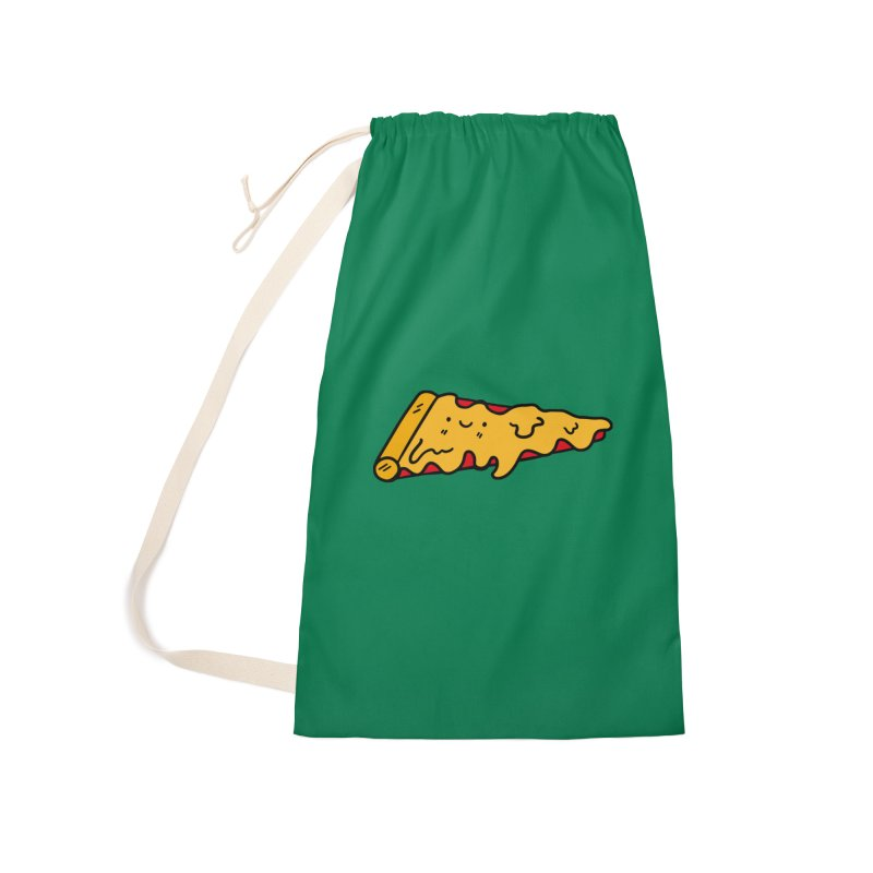 Pizza Accessories Laundry Bag Bag by Piratart Illustration