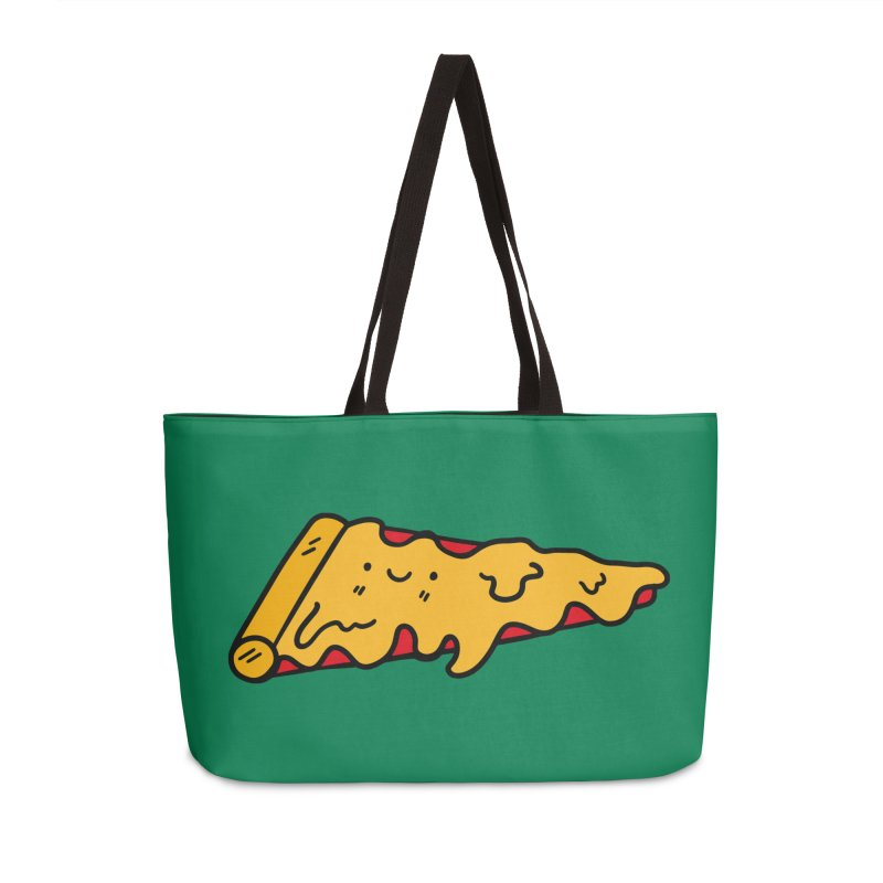 Pizza Accessories Weekender Bag Bag by Piratart Illustration
