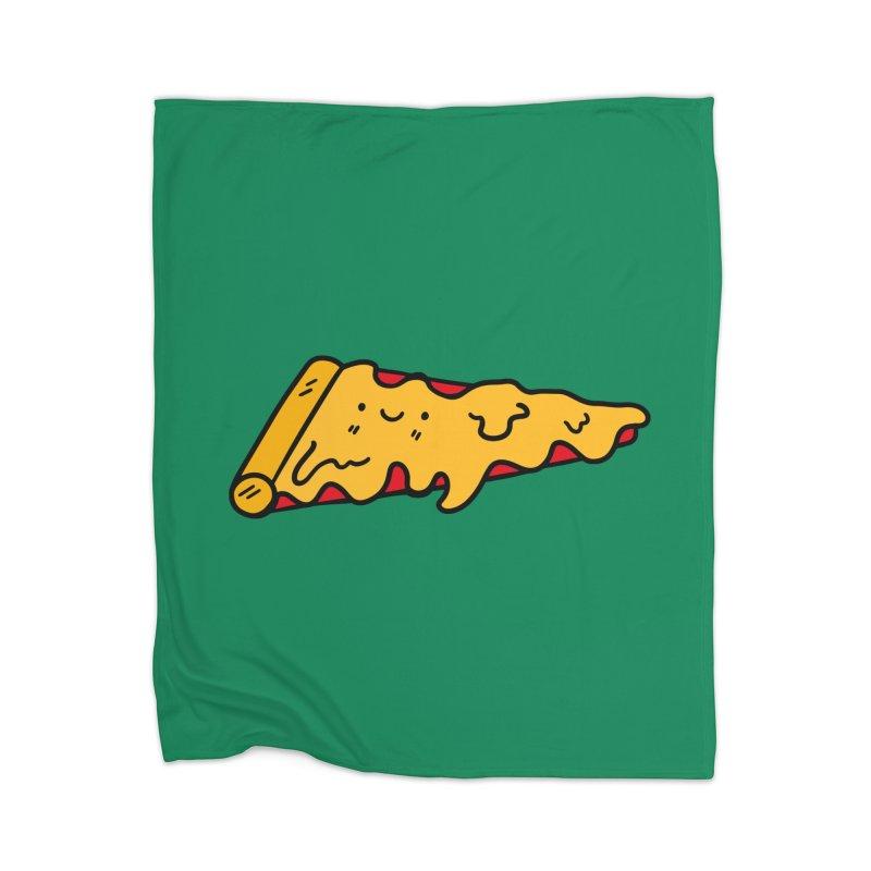 Pizza Home Blanket by Piratart Illustration