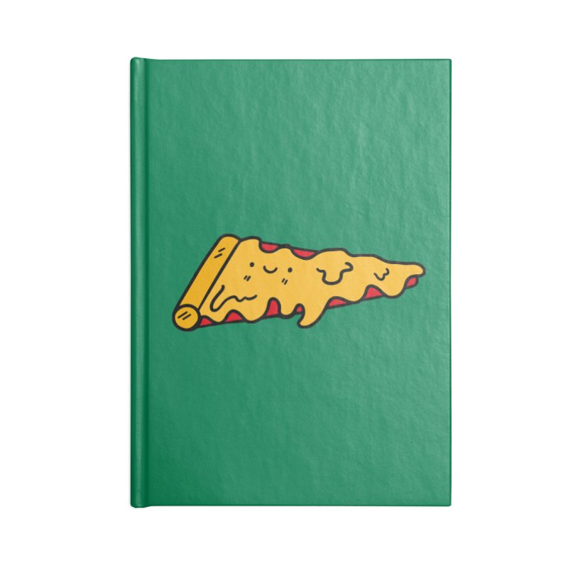 Pizza Accessories Lined Journal Notebook by Piratart Illustration
