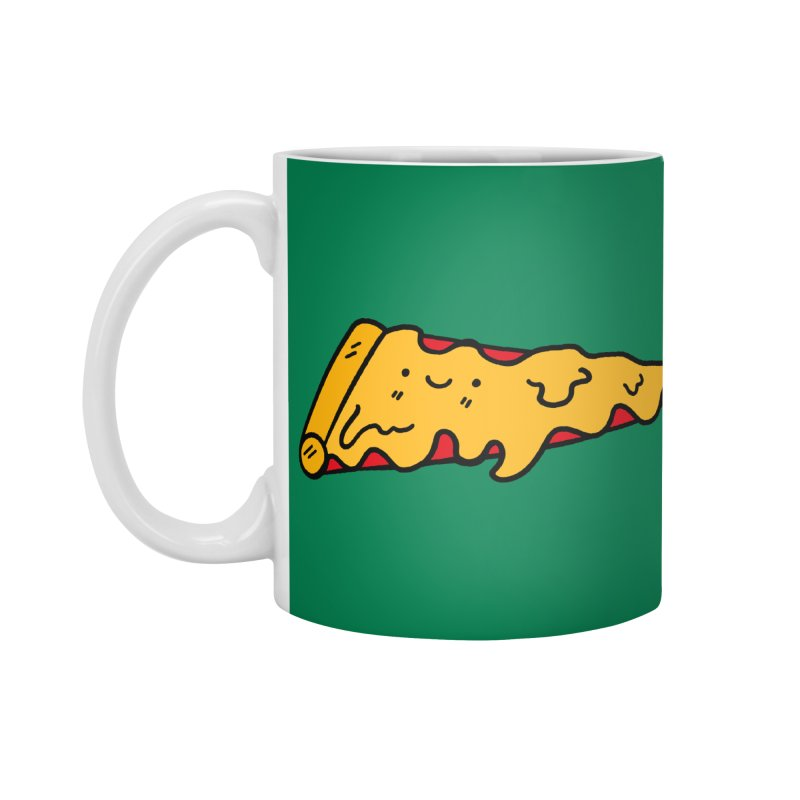 Pizza Accessories Standard Mug by Piratart Illustration