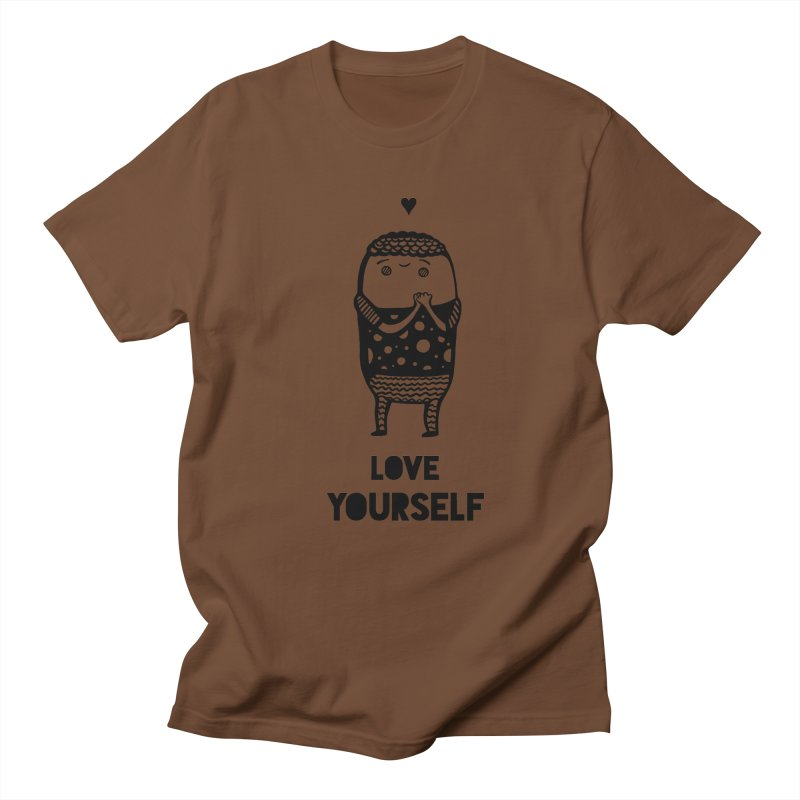 Love Yourself Women's Unisex T-Shirt by Piratart Illustration