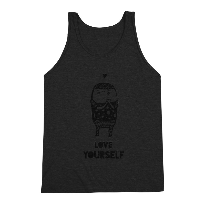 Love Yourself Men's Tank by Piratart Illustration
