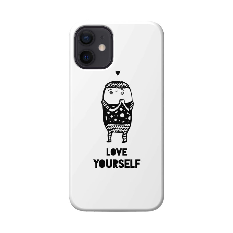 Love Yourself Accessories Phone Case by Piratart Illustration