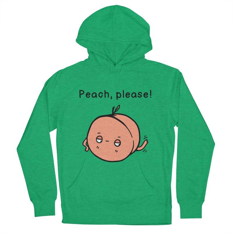 Peach, Please! Women's Pullover Hoody by Piratart Illustration