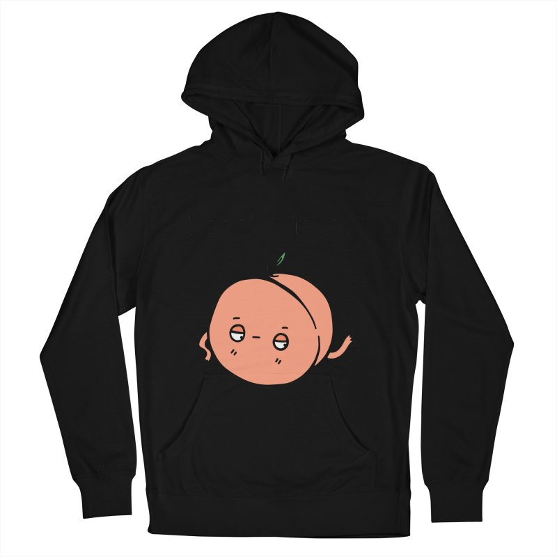 Peach, Please! Women's French Terry Pullover Hoody by Piratart Illustration