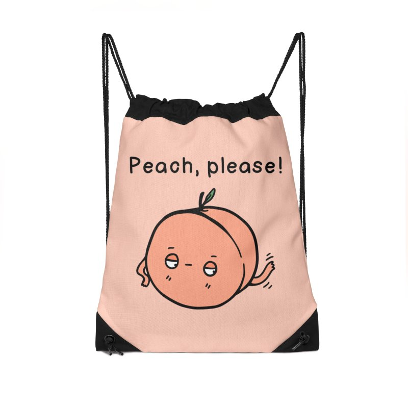 Peach, Please! Accessories Bag by Piratart Illustration