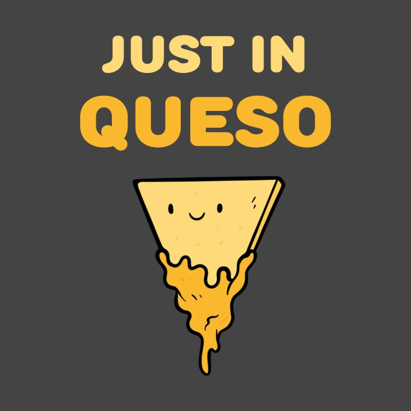 Just in Queso Accessories Zip Pouch by Piratart Illustration