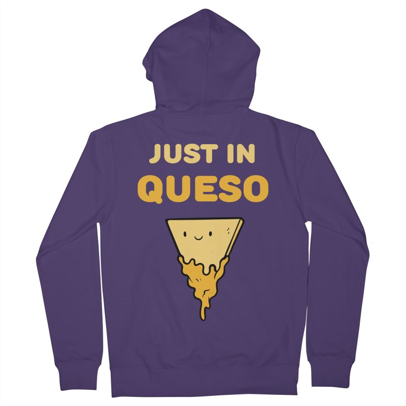 Just in Queso Women's French Terry Zip-Up Hoody by Piratart Illustration