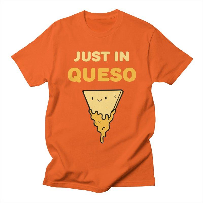 Just in Queso Men's Regular T-Shirt by Piratart Illustration