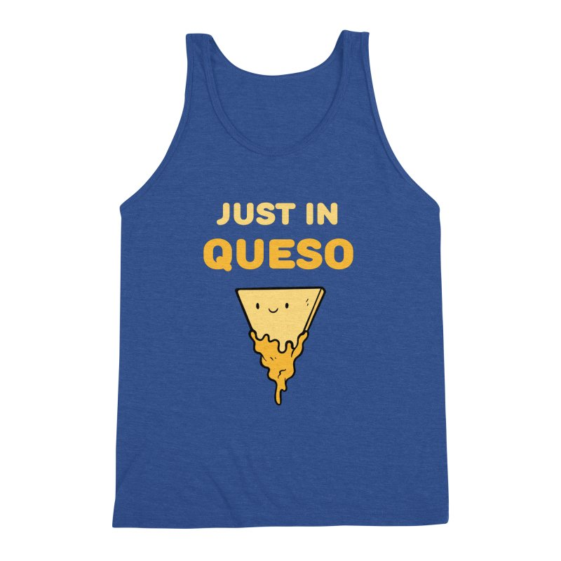 Just in Queso Men's Triblend Tank by Piratart Illustration