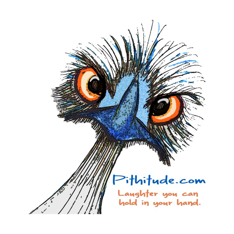 Pithitude Emu by Pithitude on Threadless