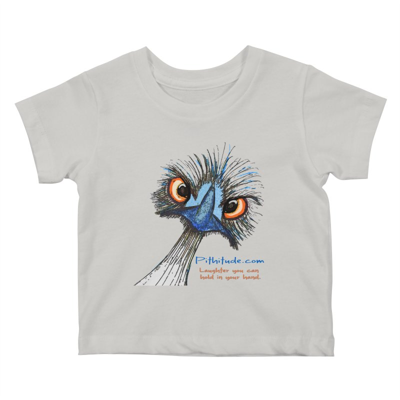 Pithitude Emu Kids Baby T-Shirt by Pithitude on Threadless