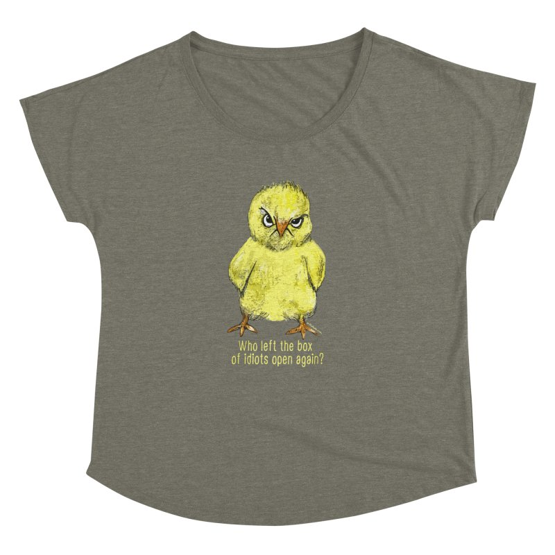 Idiot Box Chick   by Pithitude on Threadless