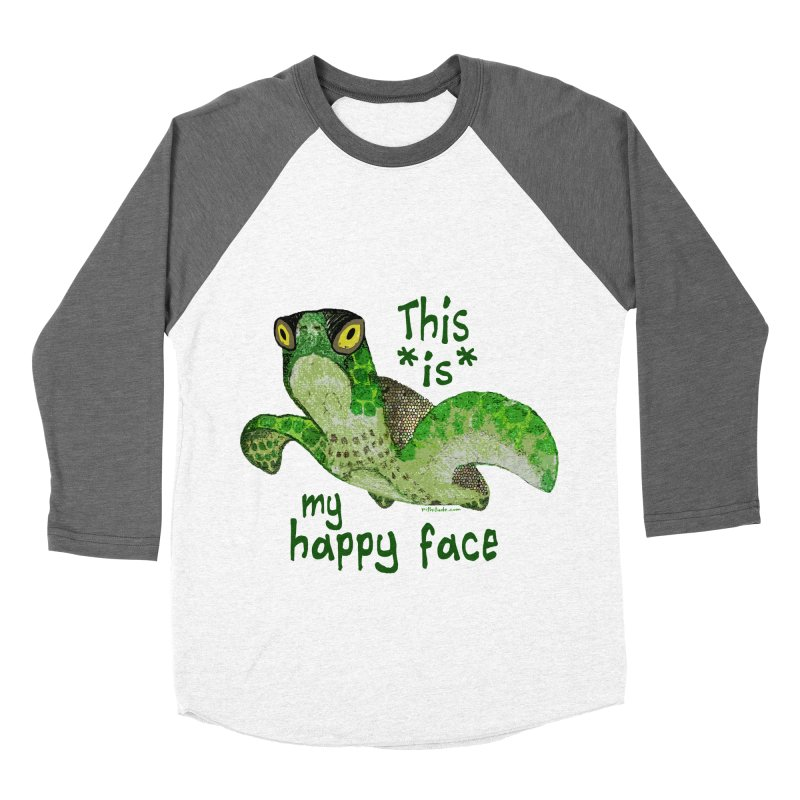Happy Face Sea Turtle   by Pithitude on Threadless