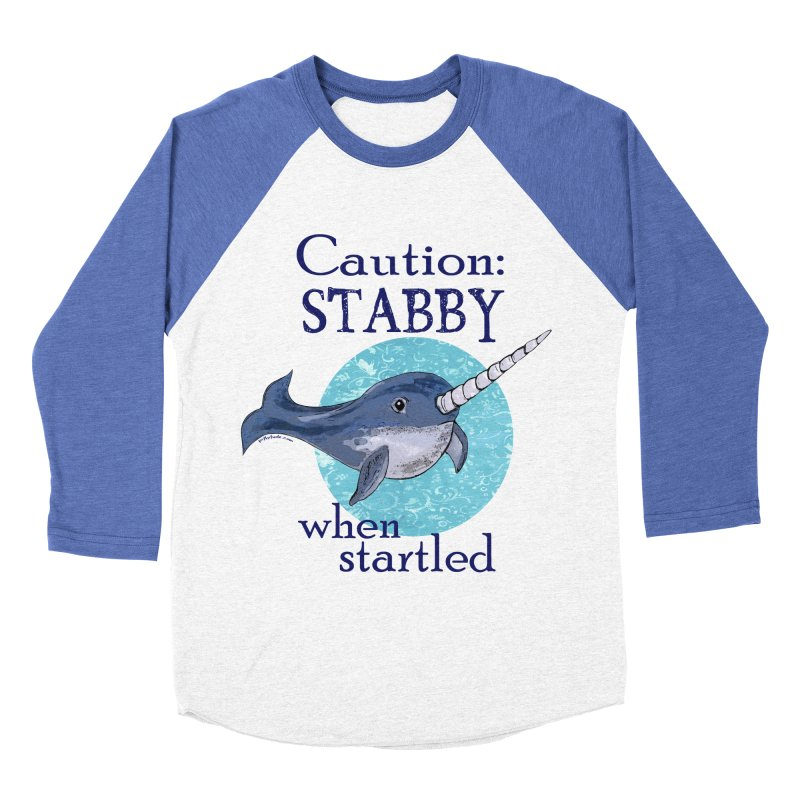 Stabby When Startled Narwhal   by Pithitude on Threadless