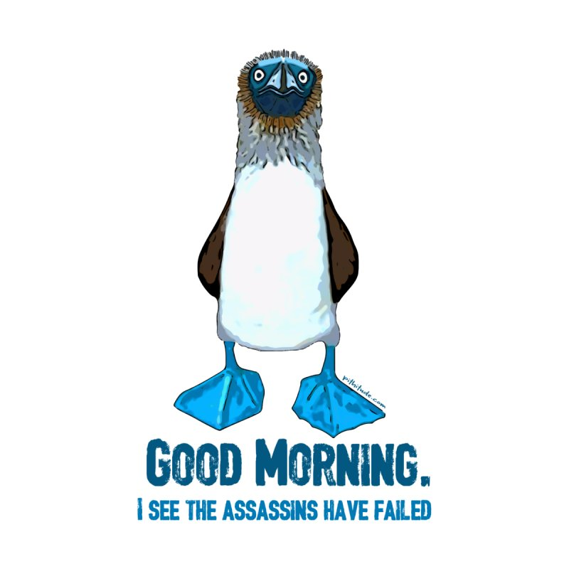 Blue Footed Boobie Assassin Women's T-Shirt by Pithitude on Threadless