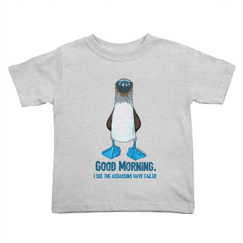 Blue Footed Boobie Assassin Kids Toddler T-Shirt by Pithitude on Threadless