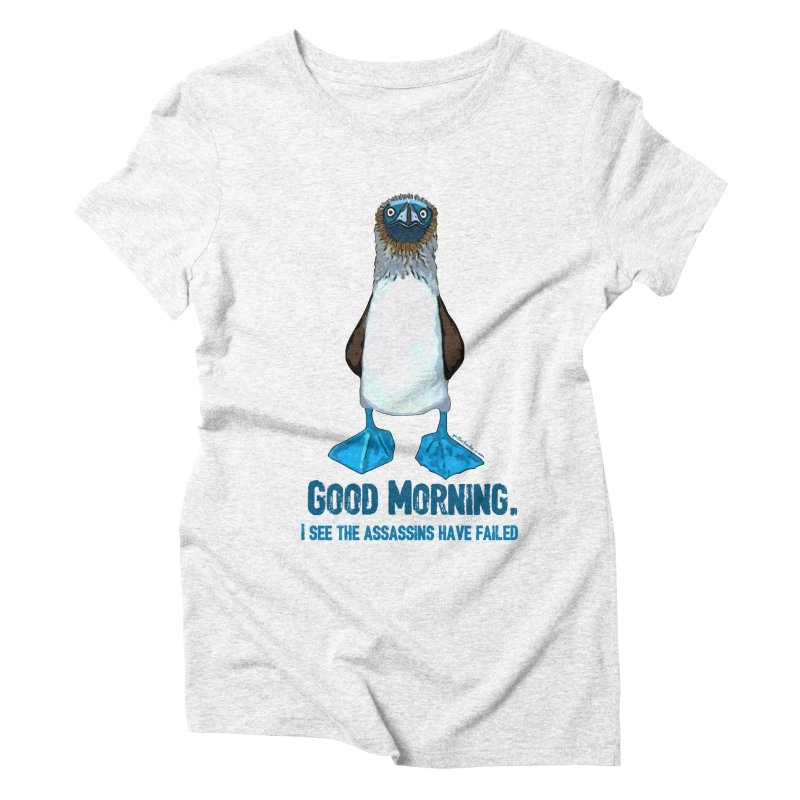 Blue Footed Boobie Assassin   by Pithitude on Threadless