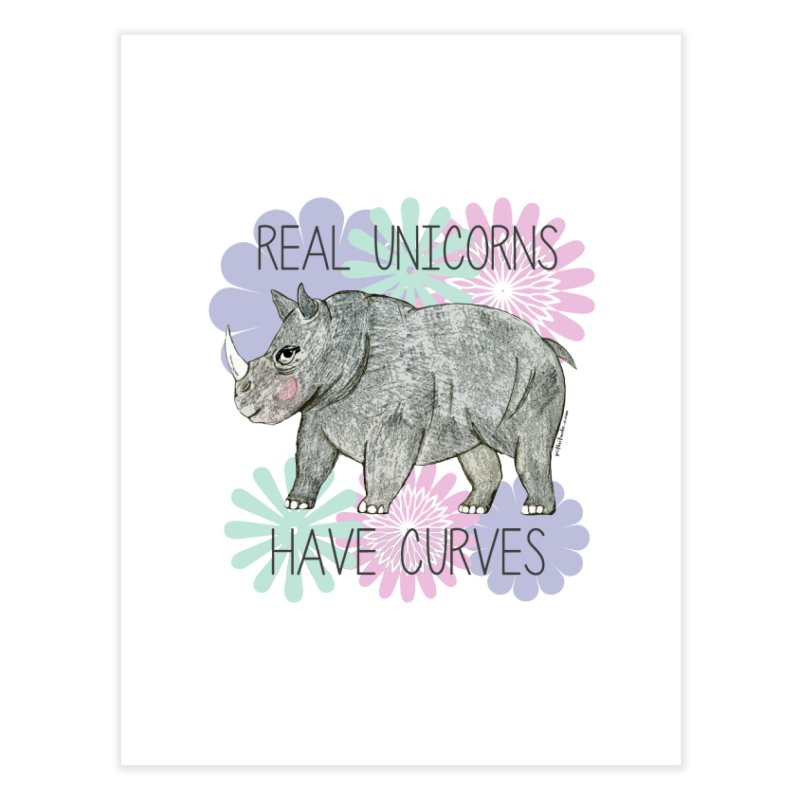 Real Unicorns Have Curves   by Pithitude on Threadless