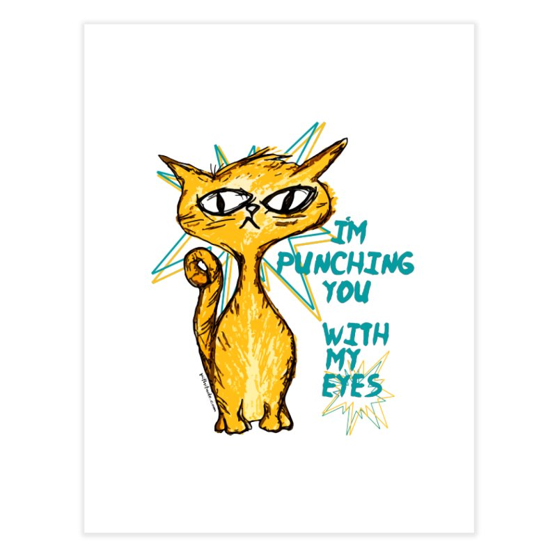 Eye Punch Cat   by Pithitude on Threadless