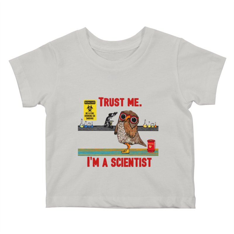 Trust Me I'm a Scientist Owl   by Pithitude on Threadless