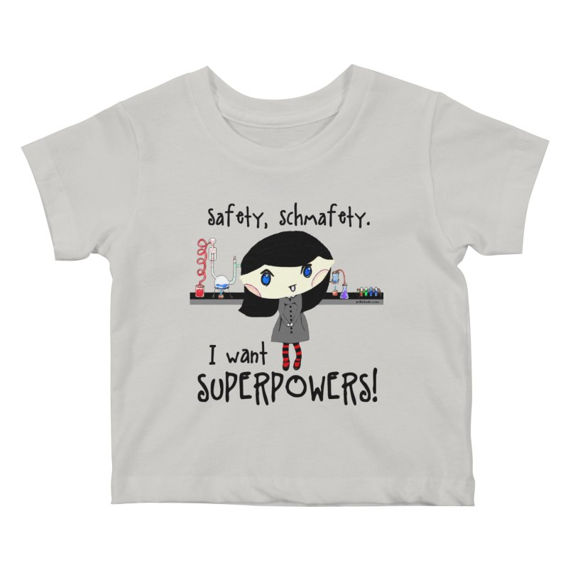 Science Lab Superpowers Kids Baby T-Shirt by Pithitude on Threadless