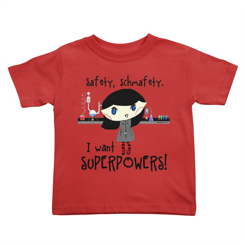 Science Lab Superpowers Kids Toddler T-Shirt by Pithitude on Threadless