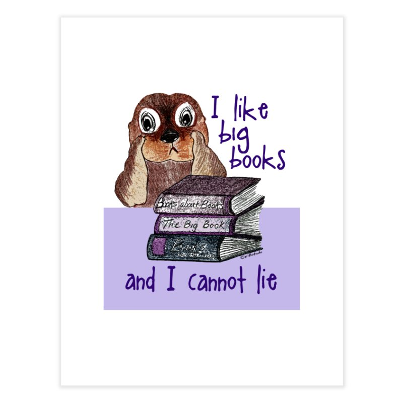 I Like Big Books Otter   by Pithitude on Threadless