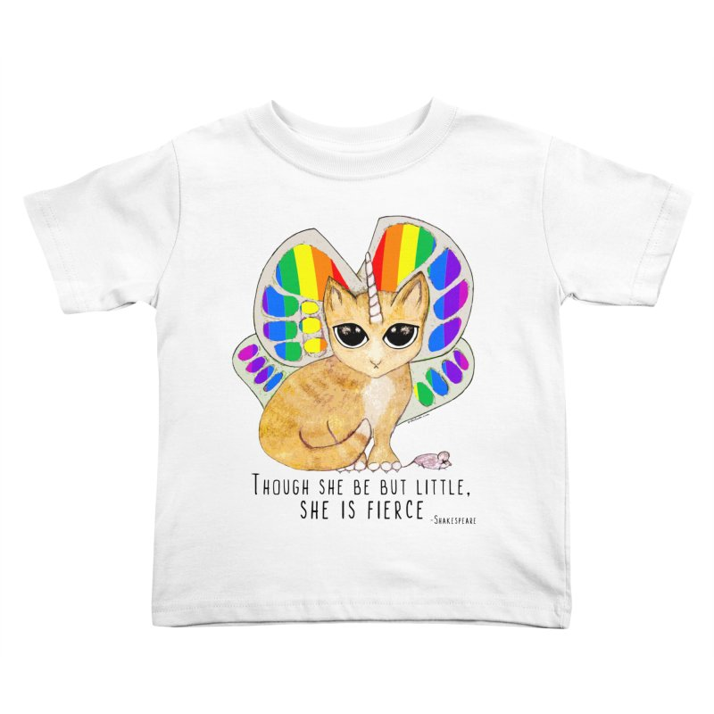 Rainbow Butterfly Unicorn Kitty by Pithitude Kids Toddler T-Shirt by Pithitude on Threadless