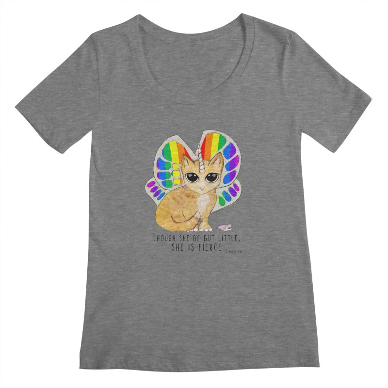 Rainbow Butterfly Unicorn Kitty by Pithitude   by Pithitude on Threadless