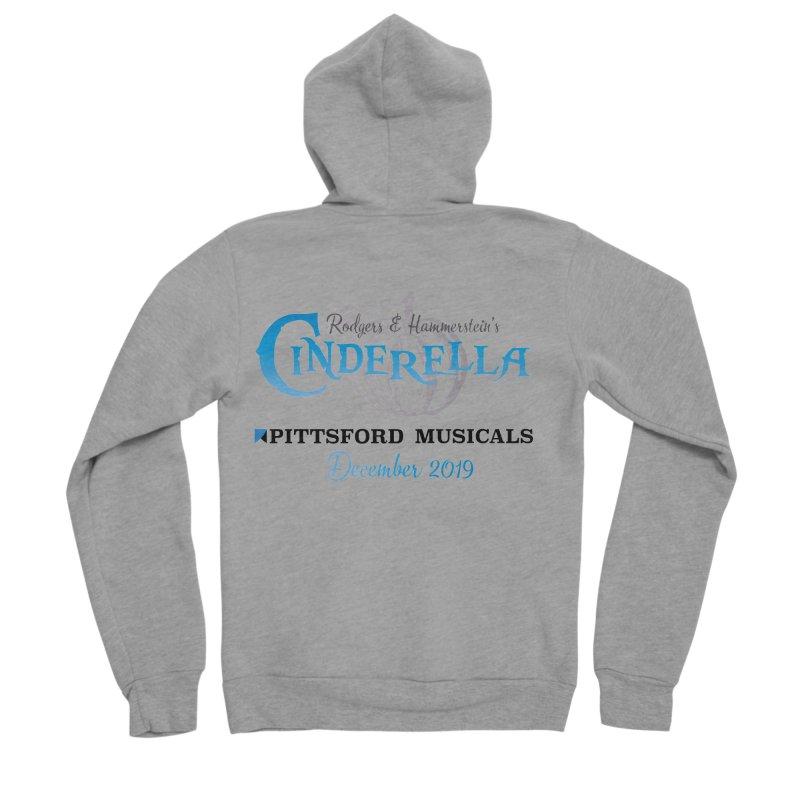 Cinderella 2019 - light colors Men's Sponge Fleece Zip-Up Hoody by Pittsford Musicals
