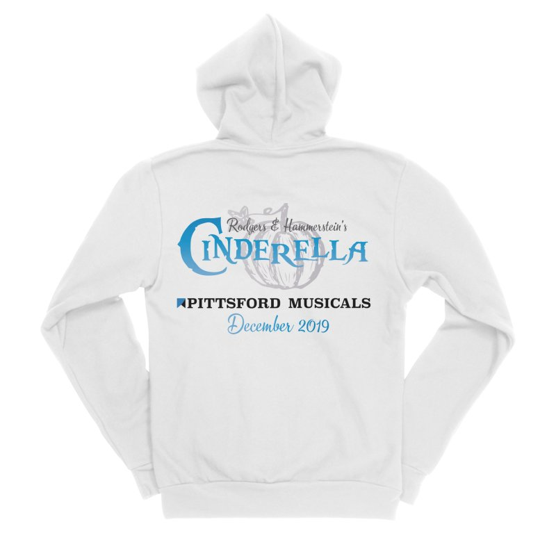 Cinderella 2019 - light colors Women's Sponge Fleece Zip-Up Hoody by Pittsford Musicals
