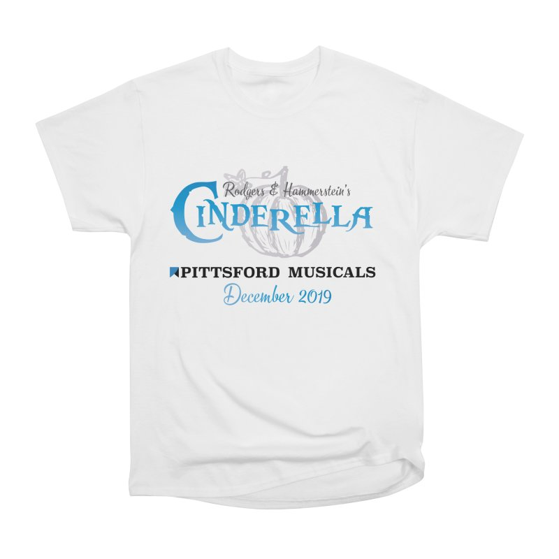 Cinderella 2019 - light colors Men's Heavyweight T-Shirt by Pittsford Musicals