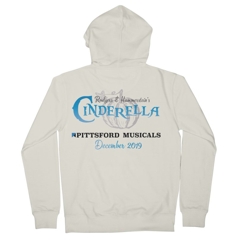 Cinderella 2019 - light colors Men's French Terry Zip-Up Hoody by Pittsford Musicals