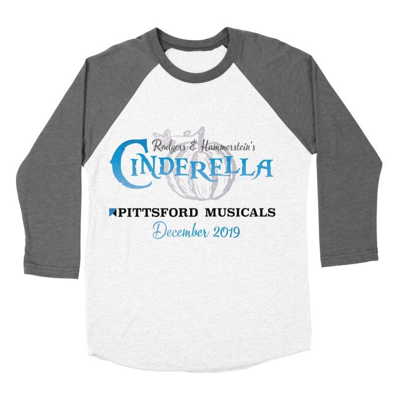 Cinderella 2019 - light colors Men's Baseball Triblend Longsleeve T-Shirt by Pittsford Musicals
