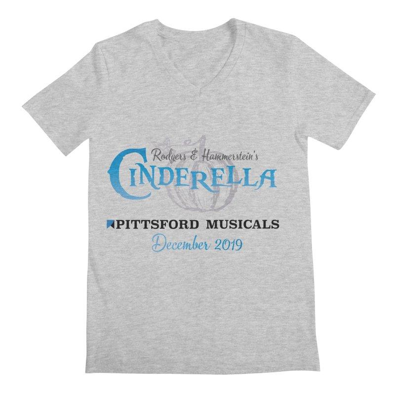 Cinderella 2019 - light colors Men's Regular V-Neck by Pittsford Musicals