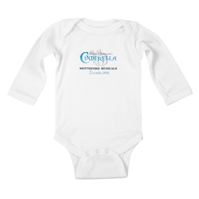Cinderella 2019 - light colors Kids Baby Longsleeve Bodysuit by Pittsford Musicals