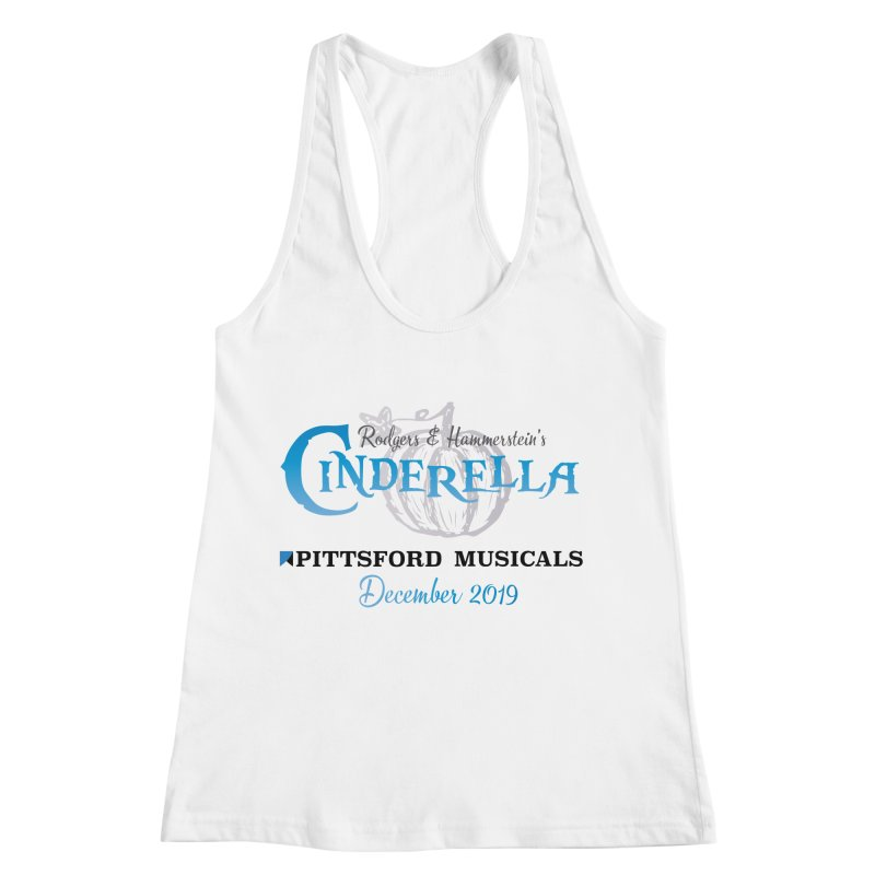 Cinderella 2019 - light colors Women's Racerback Tank by Pittsford Musicals