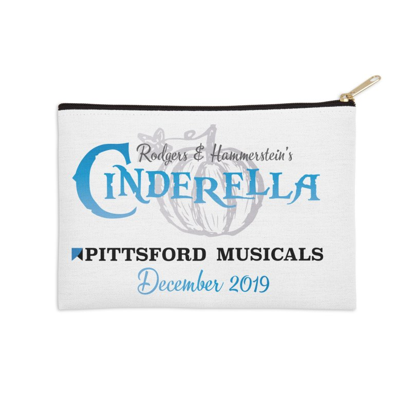 Cinderella 2019 - light colors Accessories Zip Pouch by Pittsford Musicals