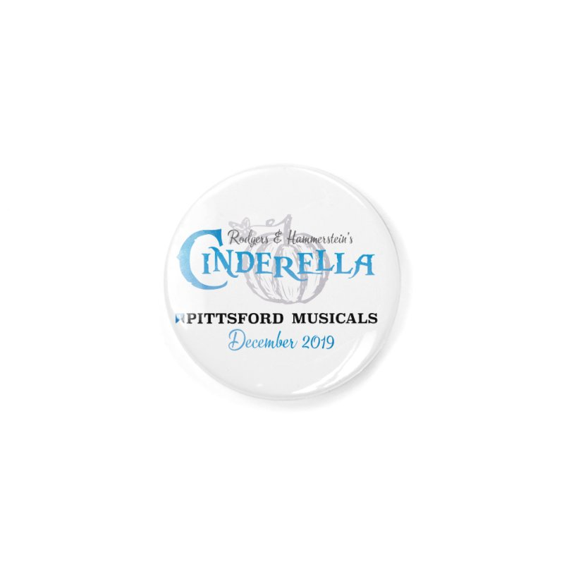 Cinderella 2019 - light colors Accessories Button by Pittsford Musicals