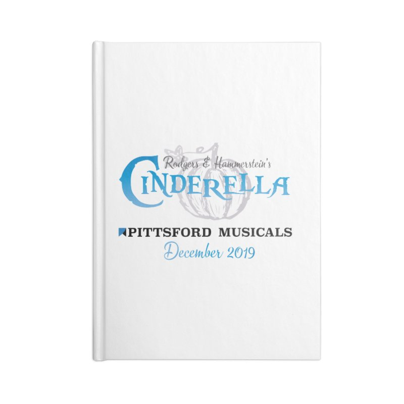 Cinderella 2019 - light colors Accessories Blank Journal Notebook by Pittsford Musicals