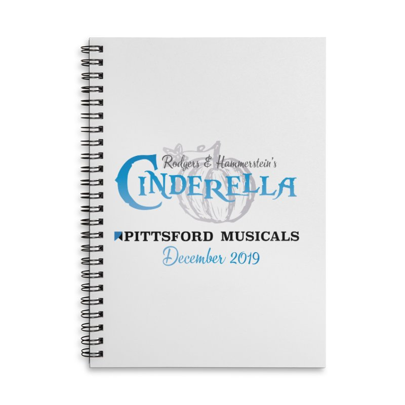 Cinderella 2019 - light colors Accessories Lined Spiral Notebook by Pittsford Musicals
