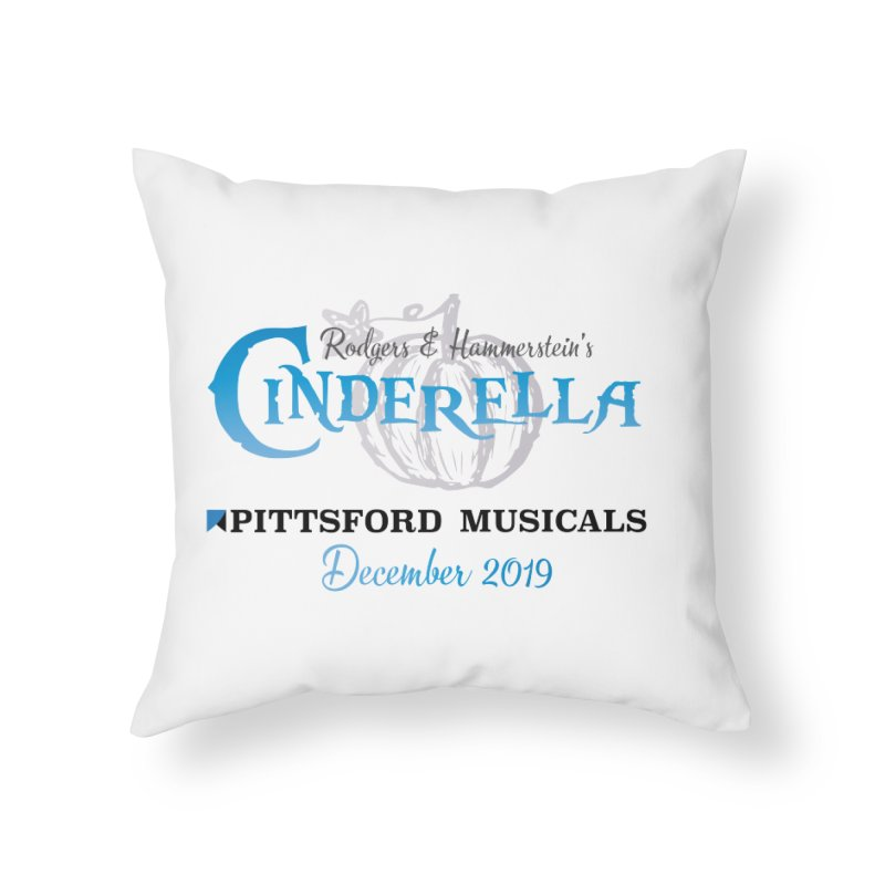 Cinderella 2019 - light colors Home Throw Pillow by Pittsford Musicals