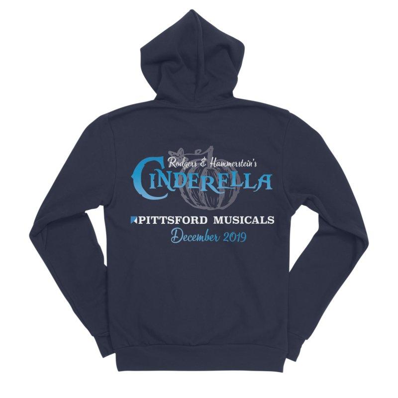 Cinderella 2019 - dark backgrounds Men's Sponge Fleece Zip-Up Hoody by Pittsford Musicals