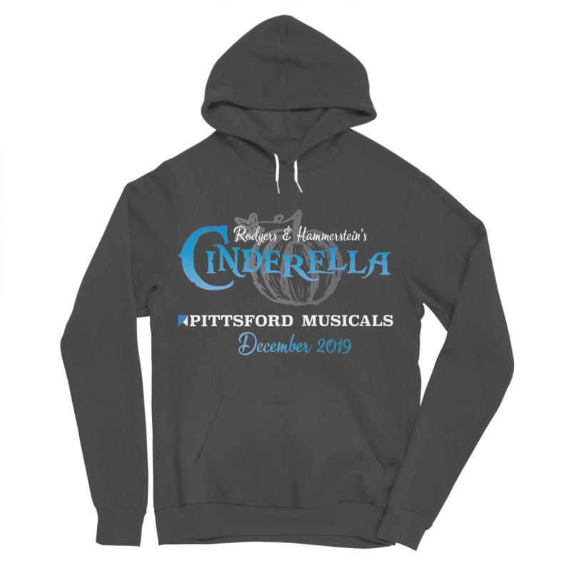 Cinderella 2019 - dark backgrounds Men's Sponge Fleece Pullover Hoody by Pittsford Musicals