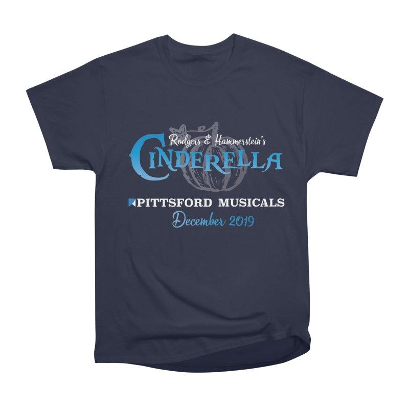 Cinderella 2019 - dark backgrounds Men's Heavyweight T-Shirt by Pittsford Musicals