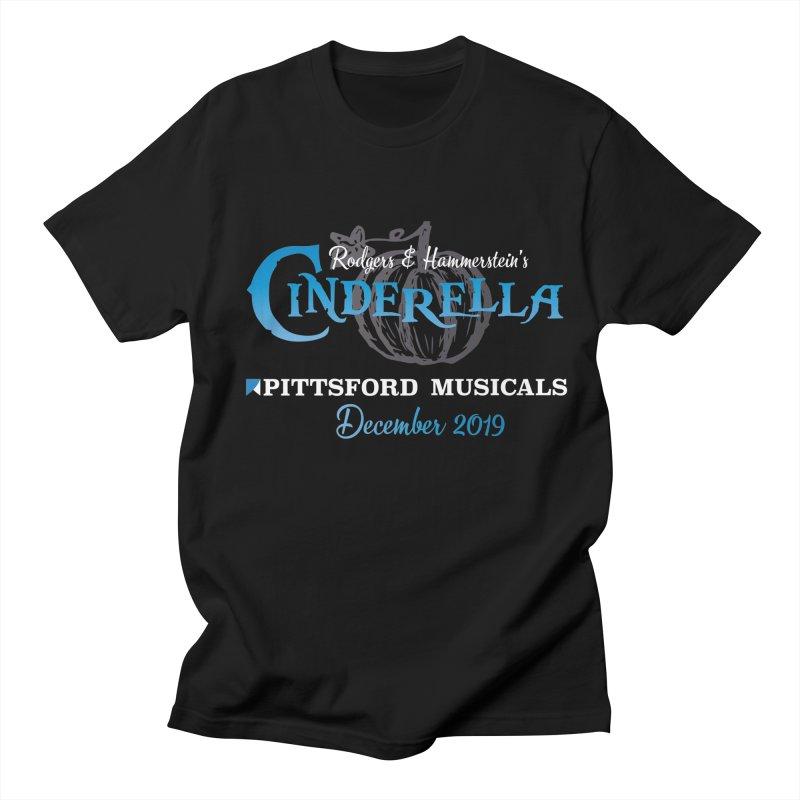 Cinderella 2019 - dark backgrounds Women's Regular Unisex T-Shirt by Pittsford Musicals